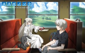Rating: Safe Score: 30 Tags: dress kasugano_haruka kasugano_sora wallpaper yosuga_no_sora User: Kanon