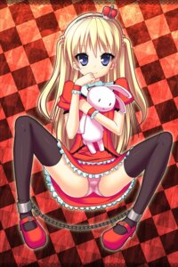 Rating: Questionable Score: 47 Tags: bondage loli ochinsama pantsu thighhighs User: 椎名深夏