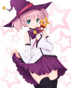 Rating: Safe Score: 29 Tags: codemofel thighhighs witch yoshikawa_chinatsu yuru_yuri User: ddns001