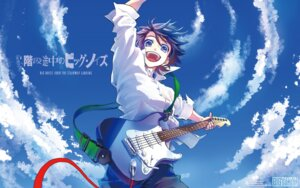 Rating: Safe Score: 16 Tags: guitar kaidan_tochuu_no_big_noise kameya_itsuki wallpaper User: blooregardo