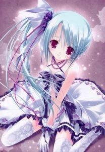 Rating: Safe Score: 65 Tags: dress duel_dolls lolita_fashion thighhighs tinkle wa_lolita User: syaoran-kun