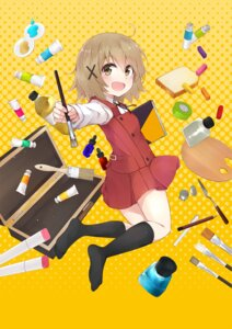 Rating: Safe Score: 32 Tags: colis feet hidamari_sketch seifuku yuno User: fairyren