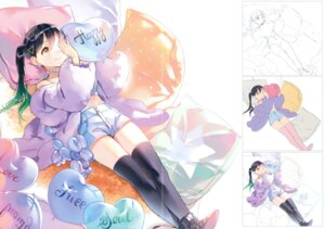 Rating: Questionable Score: 19 Tags: ancotaku gap sentiment_color sketch tagme thighhighs User: Twinsenzw