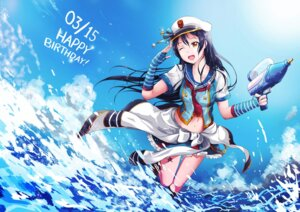 Rating: Safe Score: 18 Tags: gun hiroki_ree love_live! sonoda_umi tattoo wet wet_clothes User: saemonnokami