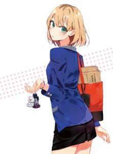 Rating: Safe Score: 75 Tags: business_suit disc_cover miyamori_aoi ponkan_8 shirobako User: リナ