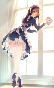 Rating: Safe Score: 128 Tags: heels maid murakami_suigun thighhighs User: Radioactive