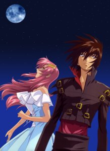 Rating: Safe Score: 12 Tags: dress gundam gundam_seed gundam_seed_destiny hirai_hisashi kira_yamato lacus_clyne User: Radioactive
