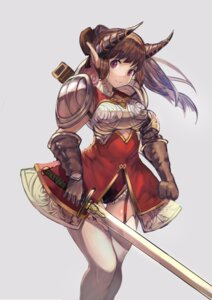 Rating: Safe Score: 22 Tags: armor horns lard pointy_ears stockings sword thighhighs User: nphuongsun93