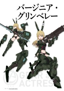 Rating: Questionable Score: 3 Tags: alice_gear_aegis virginia_glynnberets User: Halcon_Negro