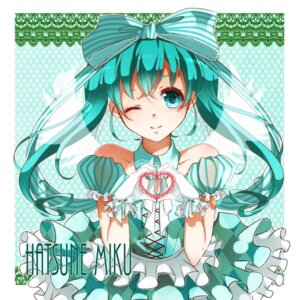 Rating: Safe Score: 20 Tags: dress hatsune_miku nou vocaloid wings User: shizukane