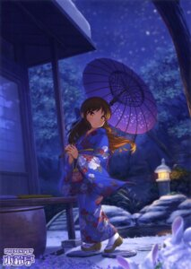 Rating: Safe Score: 63 Tags: kimono kirin_kakeru tachibana_arisu the_idolm@ster the_idolm@ster_cinderella_girls umbrella User: Twinsenzw