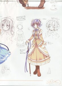 Rating: Safe Score: 4 Tags: dress ko~cha shukufuku_no_campanella sketch User: admin2