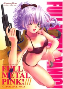 Rating: Questionable Score: 18 Tags: bikini cleavage full_metal_panic gun hispano-suiza oofuji_reiichirou swimsuits teletha_testarossa User: MikyGT-R