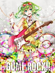 Rating: Safe Score: 9 Tags: guitar gumi nou vocaloid User: shizukane