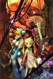 Rating: Safe Score: 5 Tags: breath_of_fire breath_of_fire_v dress lin_(breath_of_fire_v) nina_(breath_of_fire_v) ryuu_(breath_of_fire_v) sword thighhighs yoshikawa_tatsuya User: Radioactive