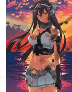 Rating: Questionable Score: 55 Tags: blood digital_version fumio kantai_collection nagato_(kancolle) torn_clothes User: Twinsenzw