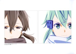 Rating: Safe Score: 33 Tags: adachi_shingo gun_gale_online megane shino_asada sinon sword_art_online User: drop