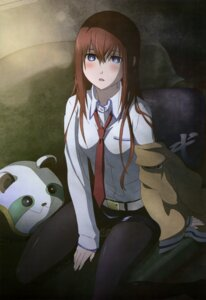 Rating: Safe Score: 86 Tags: makise_kurisu pantyhose sakai_kyuuta steins;gate User: drop