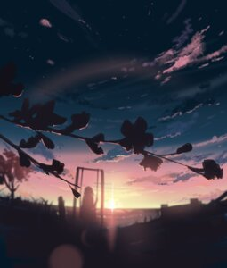 Rating: Safe Score: 18 Tags: landscape samuel-one silhouette User: BattlequeenYume