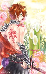 Rating: Safe Score: 7 Tags: male mix_juice shironeko_project sword tattoo User: animeprincess