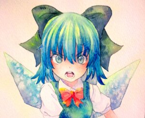 Rating: Safe Score: 10 Tags: cirno touhou yuyu_(00365676) User: Radioactive