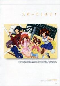 Rating: Safe Score: 7 Tags: asahina_mikuru cheerleader kyon's_sister nagato_yuki nurse suzumiya_haruhi suzumiya_haruhi_no_yuuutsu tsuruya User: wurmstag