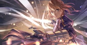 Rating: Safe Score: 16 Tags: armor fate/stay_night saber sword zicai_tang User: Mr_GT
