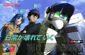 Rating: Safe Score: 11 Tags: chidori_kaname full_metal_panic horiuchi_osamu mecha nishii_masanori sagara_sousuke seifuku User: drop