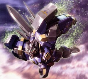 Rating: Safe Score: 9 Tags: gundam gundam_00 gundam_exia mecha morishita_naochika User: Radioactive