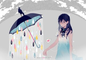 Rating: Safe Score: 22 Tags: dress ryuutsuki_basetsu umbrella wet User: charunetra