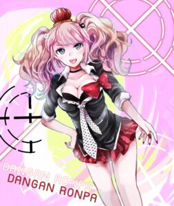 Rating: Questionable Score: 25 Tags: bra cleavage dangan-ronpa enoshima_junko revanche7th User: mioxnorman