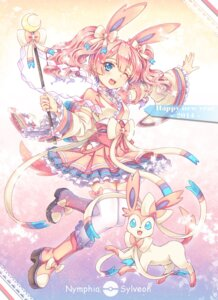 Rating: Safe Score: 55 Tags: abyss_of_parliament ninfia pokemon sylveon thighhighs User: Mr_GT