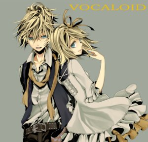 Rating: Safe Score: 30 Tags: dress kagamine_len kagamine_rin macco vocaloid User: Mioka
