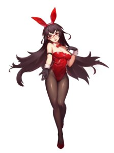 Rating: Safe Score: 41 Tags: animal_ears bunny_ears bunny_girl cleavage genzai_tankyu-sha megane pantyhose User: Mr_GT