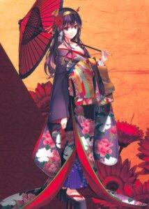 Rating: Safe Score: 202 Tags: cleavage fixed kasumigaoka_utaha kimono misaki_kurehito open_shirt saenai_heroine_no_sodatekata umbrella User: Pekie