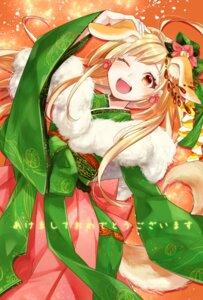Rating: Safe Score: 12 Tags: animal_ears inumimi kimono tail tsugumi_suzuma User: 8mine8