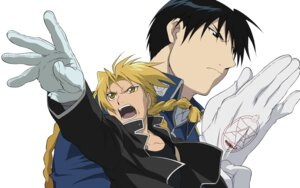 Rating: Safe Score: 3 Tags: edward_elric fullmetal_alchemist male roy_mustang User: charunetra