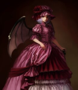 Rating: Safe Score: 6 Tags: dress egawa_satsuki remilia_scarlet touhou wings User: yumichi-sama