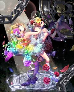 Rating: Questionable Score: 19 Tags: dress flandre_scarlet mikkii pantyhose remilia_scarlet touhou wings User: 椎名深夏