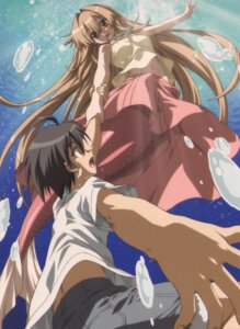 Rating: Safe Score: 9 Tags: mermaid michishio_nagasumi seto_no_hanayome seto_san User: Claimh