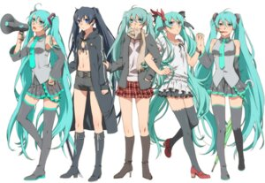 Rating: Safe Score: 33 Tags: black_rock_shooter black_rock_shooter_(character) hajimete_no_koi_ga_owaru_toki_(vocaloid) hatsune_miku koi_wa_sensou_(vocaloid) melt_(vocaloid) murakami_yuichi thighhighs vocaloid world_is_mine_(vocaloid) User: yumichi-sama