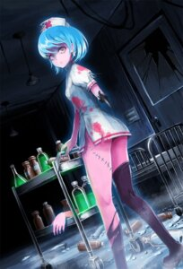 Rating: Questionable Score: 35 Tags: blood guro nurse takarl_ume thighhighs User: blooregardo