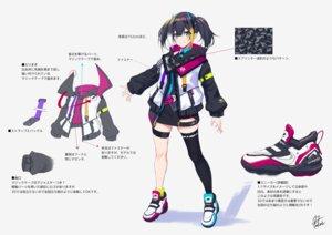 Rating: Questionable Score: 16 Tags: character_design fukai_ryosuke garter tagme thighhighs uniform User: Dreista