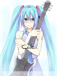 Rating: Safe Score: 17 Tags: calc._(vocaloid) guitar hatsune_miku rato vocaloid User: fireattack