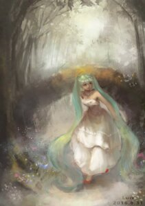 Rating: Safe Score: 24 Tags: dress hatsune_miku luw vocaloid wedding_dress User: Noodoll