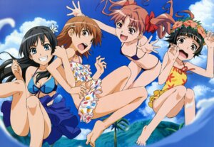 Rating: Safe Score: 75 Tags: bikini cleavage misaka_mikoto saten_ruiko shirai_kuroko swimsuits to_aru_kagaku_no_railgun to_aru_majutsu_no_index uiharu_kazari User: vita