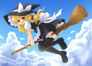 Rating: Safe Score: 3 Tags: kirisame_marisa maru54 thighhighs touhou witch User: blooregardo