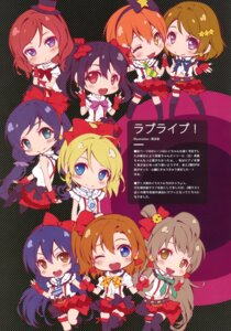 Rating: Safe Score: 41 Tags: chibi cradle garter kuroya_shinobu love_live! puffsleeve thighhighs User: Twinsenzw