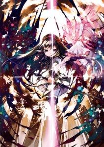 Rating: Safe Score: 23 Tags: akemi_homura hanokage kaname_madoka puella_magi_madoka_magica ultimate_madoka User: Hatsukoi