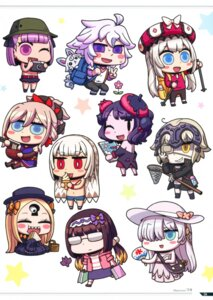 Rating: Safe Score: 10 Tags: abigail_williams_(fate/grand_order) anastasia_nikolaevna_romanova_(fate/grand_order) attila_(fate/grand_order) chibi dress eyepatch fate/grand_order helena_blavatsky_(fate/grand_order) japanese_clothes jeanne_d'arc jeanne_d'arc_(alter)_(fate) katsushika_hokusai_(fate/grand_order) marie_antoinette_(fate/grand_order) megane merlin_(fate/stay_night) miyamoto_musashi_(fate/grand_order) osakabe-hime_(fate/grand_order) riyo_(lyomsnpmp) screening User: Nepcoheart